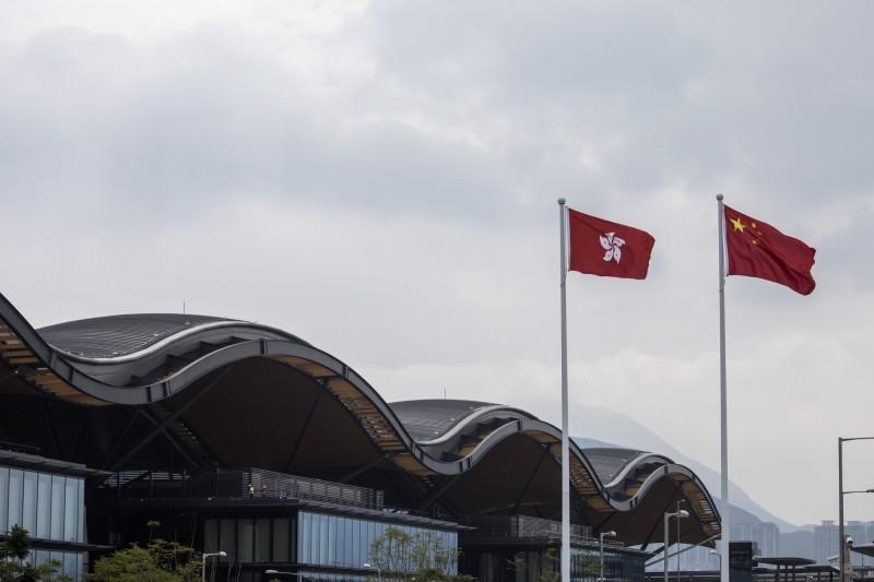 香港民主派會議召集人陳淑莊批評北京,在沒有諮詢香港人意見下,訂下「港版國安法」屬不智。(彭博)