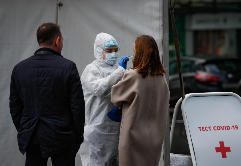 俄羅斯境內武漢肺炎確診病例已破31萬例。(歐新社)