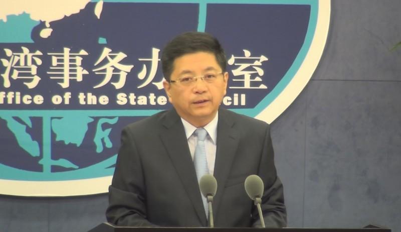 國台辦發言人馬曉光(見圖)昨日批評台灣防疫,引發外界不滿。(中央社)