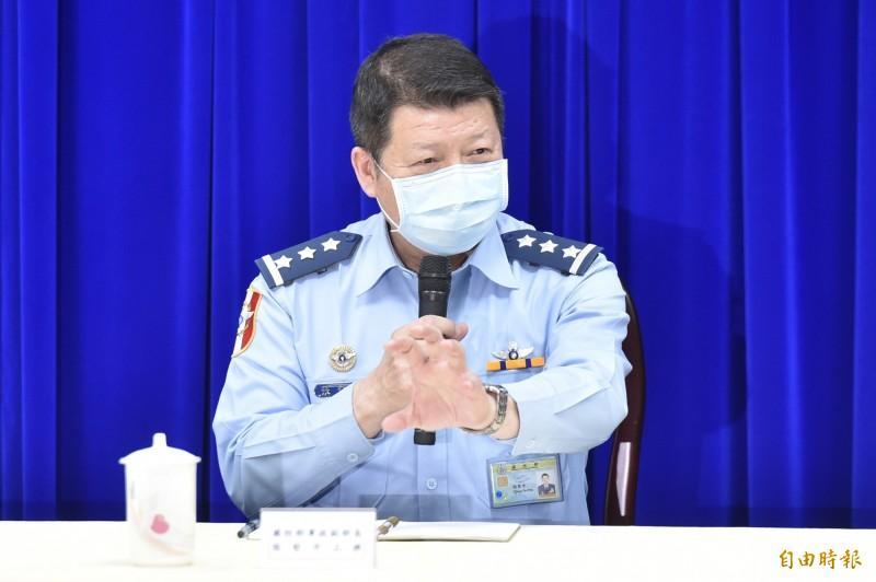 國防部軍政副部長張哲平上將。(資料照)