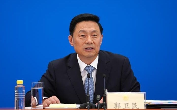 Guo Weimin, spokesman for the two sessions of the CCP, was besieged by concealing the epidemic at the first press conference. (Picture taken from the Internet)