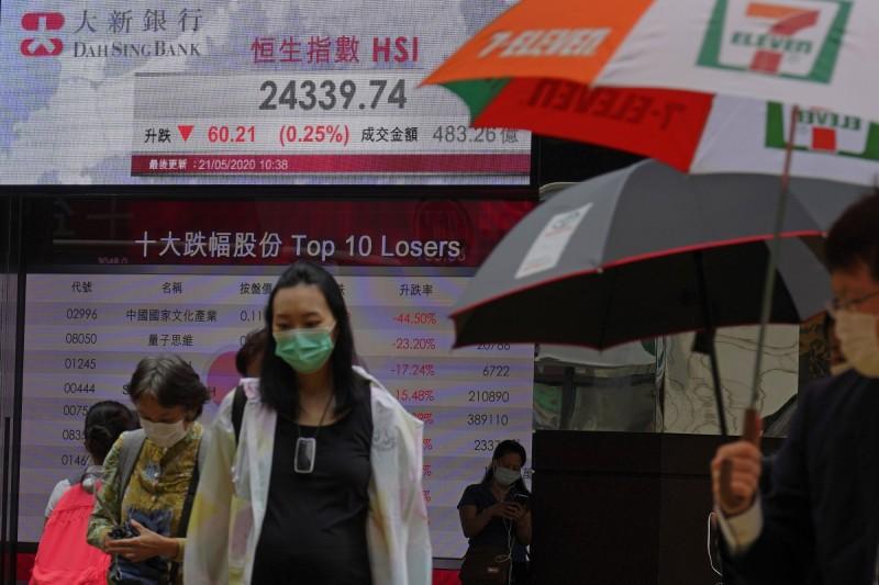 香港衛生官員下午公布,新增8名患者全部屬於境外移入個案,患者由巴基斯坦回港。(美聯社)