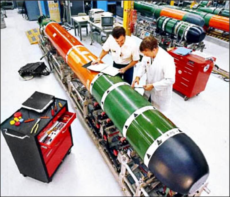 美批准54.5億元對台軍售案,內含18枚MK-48 Mod6 AT重型魚雷與相關設備,這是美方追加的魚雷軍售,可提升我國潛艦戰力。(取自洛克希德馬丁網站)