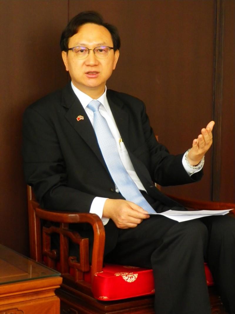 新任僑委會委員長童振源將在6月1日返台就任。(僑委會提供)