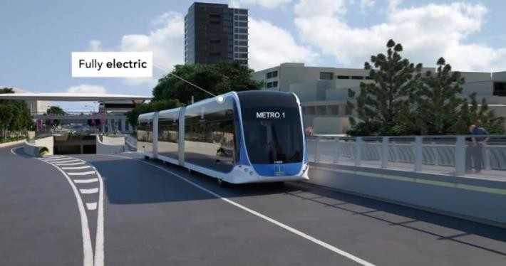 台南捷運是否採行自動駕駛系統,交通局表示將於6月底前給答案。(記者洪瑞琴翻攝)