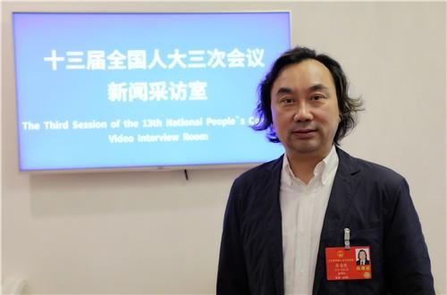 台籍中國人大代表廖海鷹(見圖)指出,民進黨沒有全面地看待「祖國大陸」。(圖取自微博)