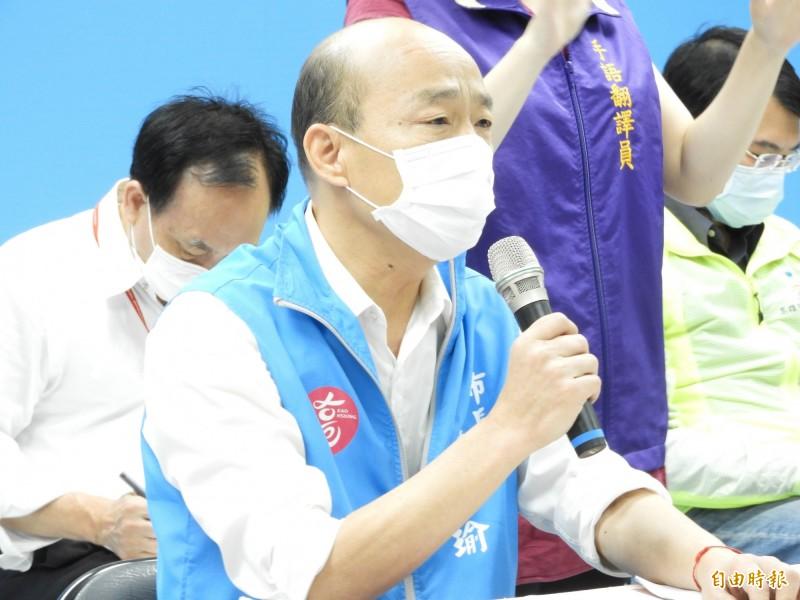 韓國瑜二度提暫停執行罷免,遭台北高等行政法院再度駁回。(資料照)