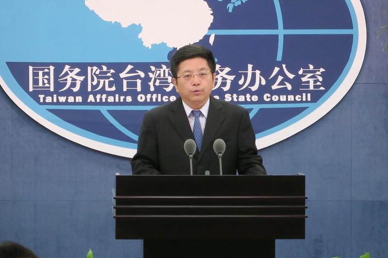馬曉光(見圖)表示,民進黨政府應立刻停止政治操弄香港事務。(中央社檔案照)