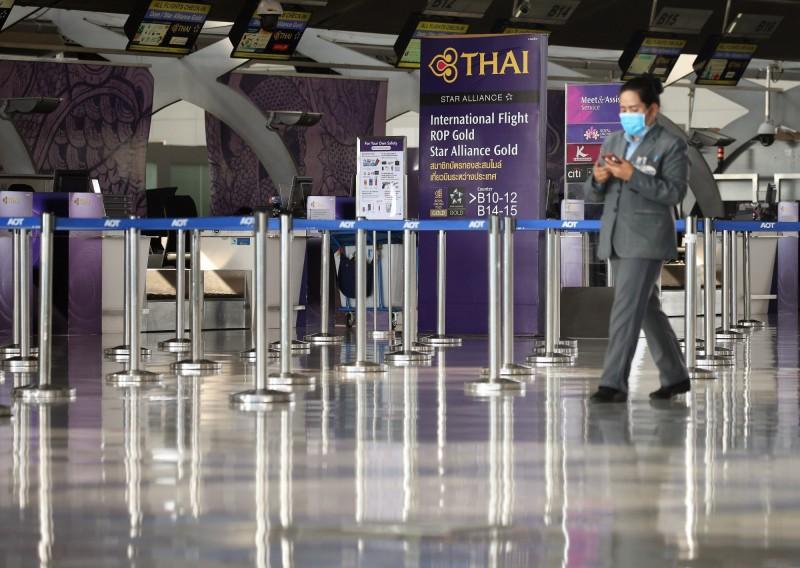 3名奈及利亞人因為疫情影響,被迫滯留於泰國曼谷的蘇凡納布機場逾2個月。圖為蘇凡納布國際機場。(歐新社)