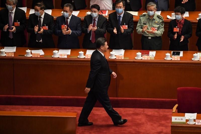 中國全國人大將審議「港版國安法」。國民黨今呼籲北京當局,此事涉及香港社會敏感神經,尤應謹慎為之,要充分尊重香港高度自治,保障香港言論結社自由,希望中共積極回應香港民眾期望,妥善處理香港民眾的疑慮,為兩岸三地共創三贏的新局面。(法新社)