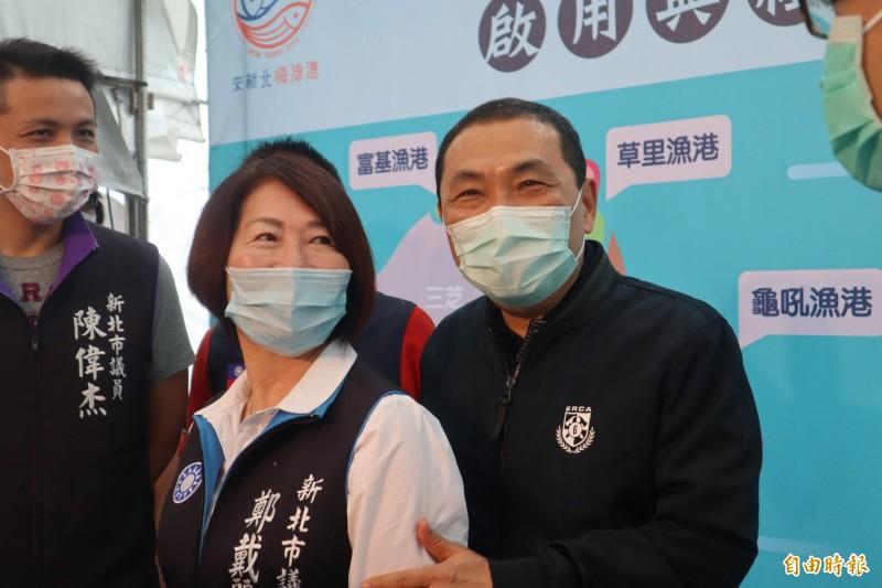 侯友宜表示,他現在是新北市長,只想把市政工作做好。(記者周湘芸攝)