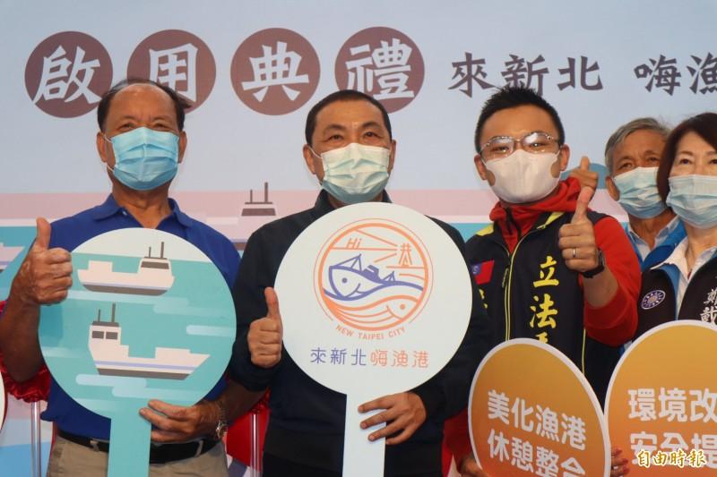 侯友宜表示,新北市人口多、產值高,希望與其他縣市合作推出防疫旅遊。(記者周湘芸攝)