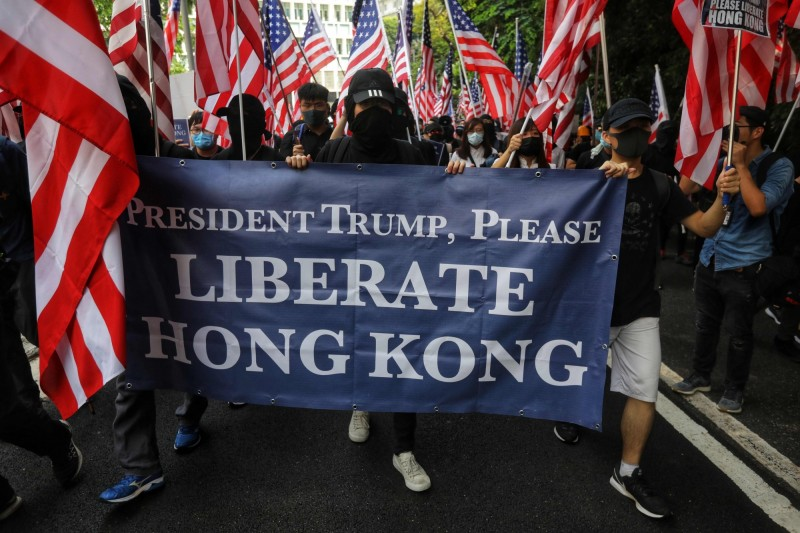 美國國會及行政當局中國委員會發表聲明 促中撤回香港國安法