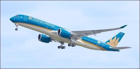 越南下週五(29日)將派專機來台接500多名越南人回國。(越南航空提供)