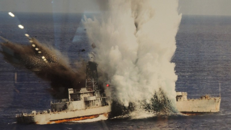 海軍256潛艦戰隊多次進行「戰雷驗證」,以魚雷擊沉靶艦。(圖:資料照)