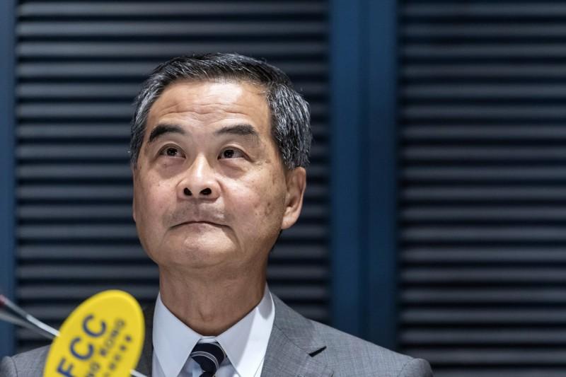 挺港版國安法 梁振英:中國可依新法在港設立情治機關