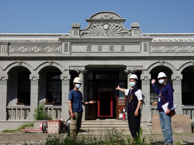 中市市定古蹟黃家瀞園修復完成,所有權人有意打造海線「古蹟民宿」。(圖:文化局提供)