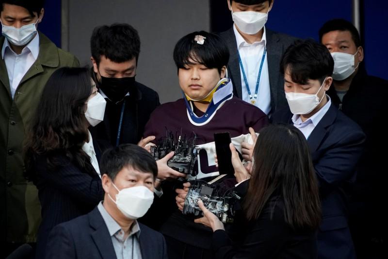圖中為南韓N號房事件主嫌之一的趙主彬。(路透)