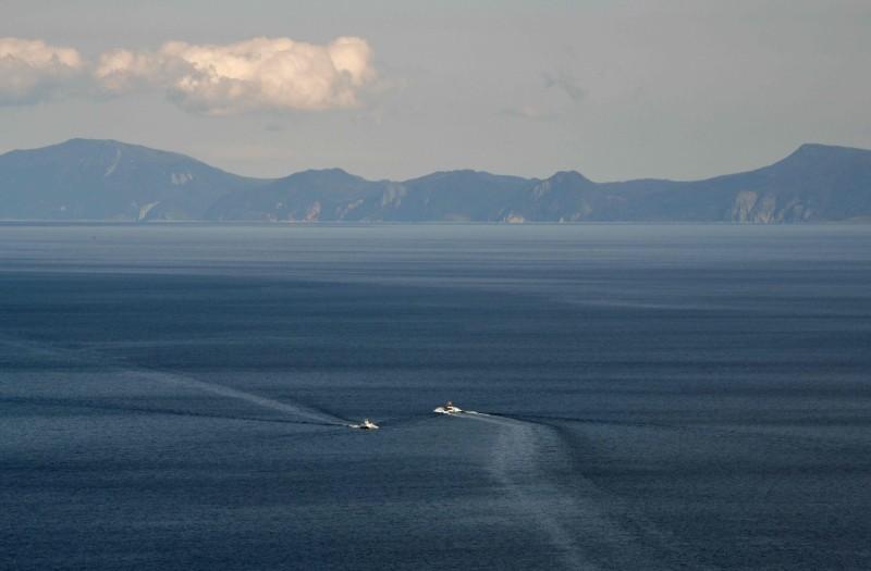 在日本與俄羅斯2國之間爭議已久的南千島群島(又稱北方四島,圖為其中的國後島)主權爭議,在近日傳出經濟區域談判出現新進展。(法新社)