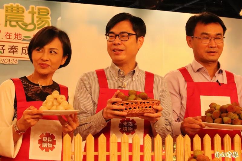 陳其邁表示,台灣是主權獨立國家,不容中國說三道四。(記者邱書昱攝)