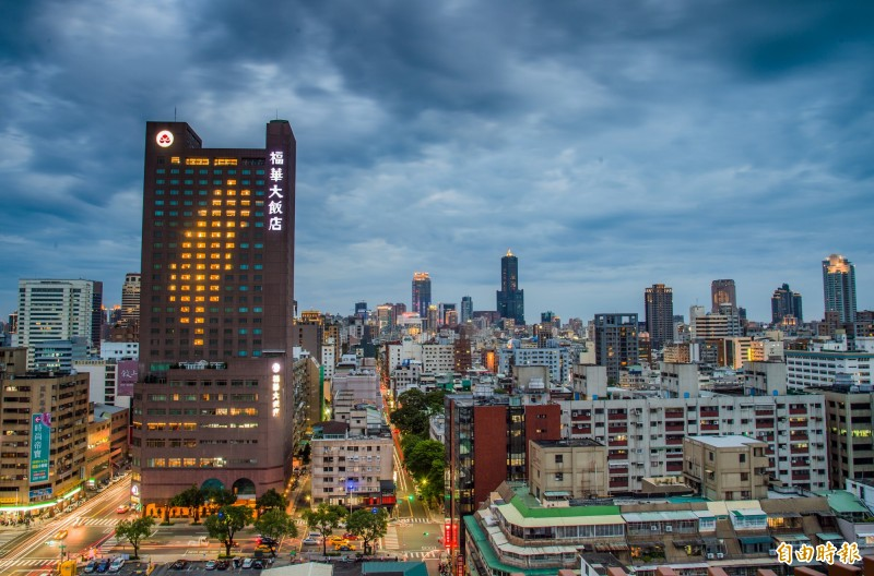福華大飯店。(記者張忠義攝)