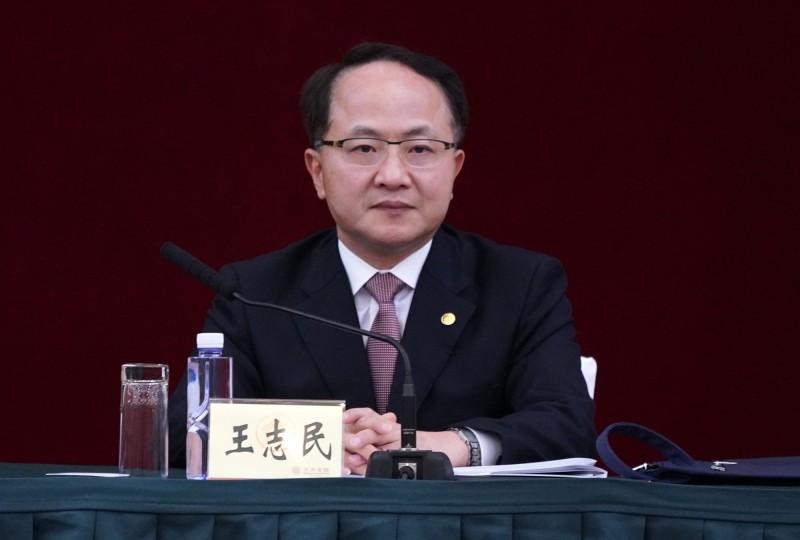 前香港中聯辦主任王志民。資料照。(中央社)