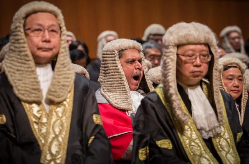 中國有知情人士透露,在港版國安法之後,中共將禁止外籍法官審理國安案件,讓外界擔憂香港的司法獨立性恐不保。(法新社資料照)