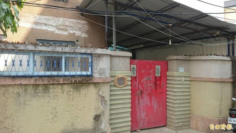 位在南市中西區友愛街巷內的228烈士湯德章名人故居,台南發起國內首例公民募資重建行動。(記者洪瑞琴攝)