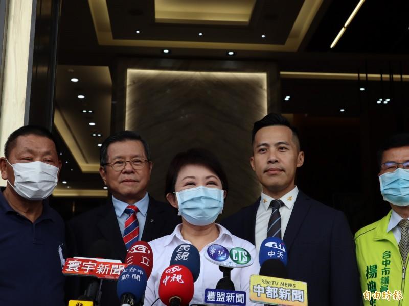 特種行業6月1日解禁,台中市長盧秀燕表示,目前已有30多家提出復業申請。(記者歐素美攝)