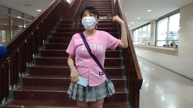 藝人劉樂妍被控賄選,台北地院今開庭,但劉未到庭。(資料照)