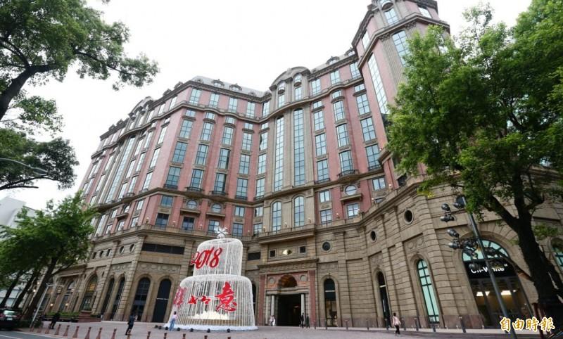 台北文華東方酒店外觀。(資料照)
