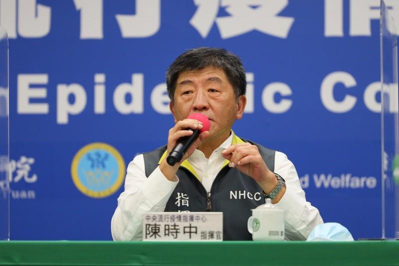 6月7日起國內可大規模鬆綁生活管制措施,中央流行疫情指揮中心指揮官陳時中今日表示,屆時預計記者會也將調整為每週1次。(指揮中心提供)