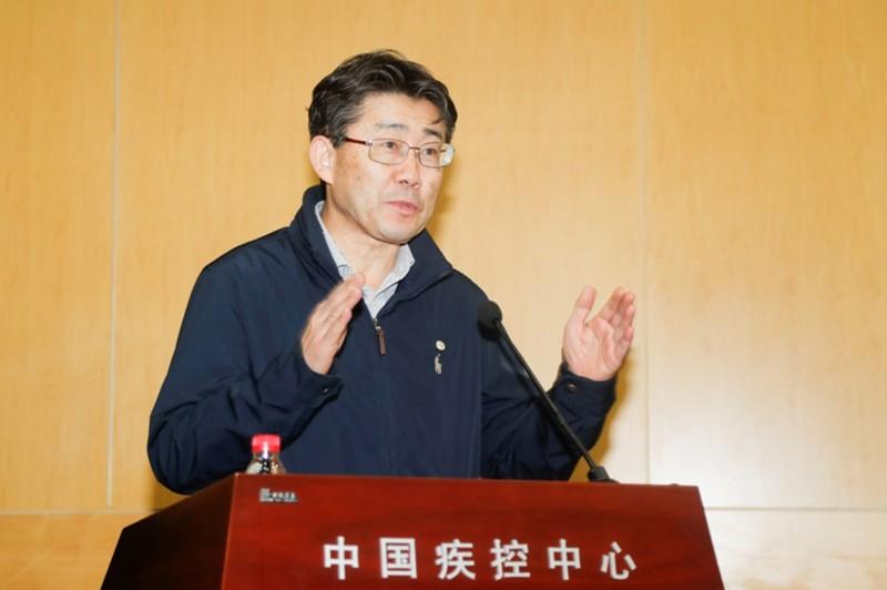 中國國家疾控中心主任高福。(中央社資料照)