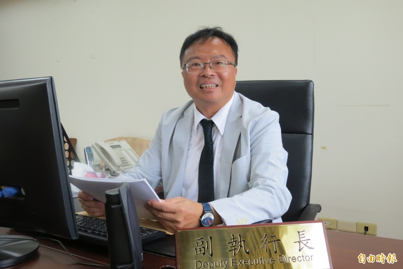 行政院中部聯合服務中心副執行長由前彰化縣立委洪宗熠擔任。(記者蘇金鳳攝)