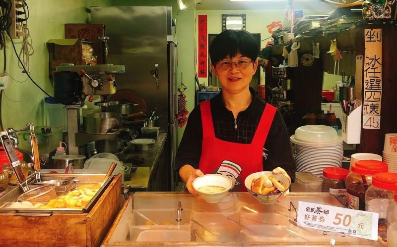 坪林老街商家均可使用好茶券。(農業局提供)
