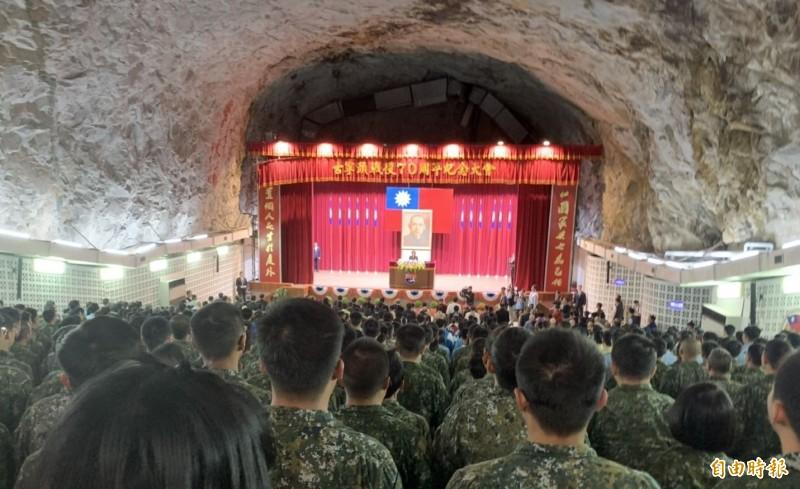 金門軍事管制區「擎天廳」暫定六月初開放。(資料照 記者吳正庭攝)