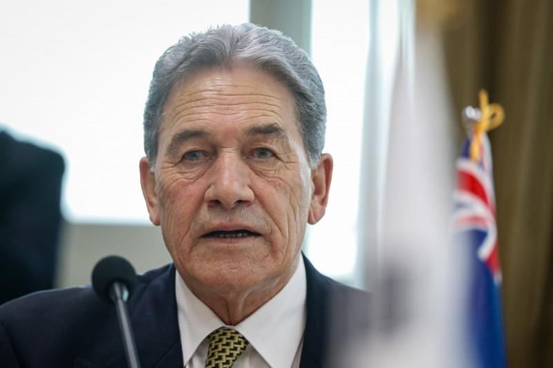 紐西蘭副總理兼外交部長皮特斯(見圖)發聲明,譴責中國侵害香港人權。(歐新社檔案照)
