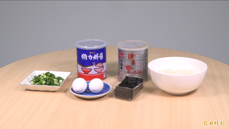用維力炸醬和沙茶醬,教你百元內變身高檔料理!(記者林秀豪攝)
