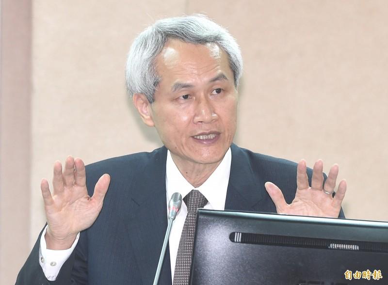 銓敘部長周弘憲將獲提名出任考試院副院長。(資料照,記者廖振輝攝)