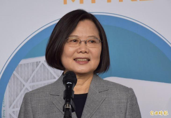 總統蔡英文(見圖)表示,台灣有責任與國際民主陣營的夥伴們攜手合作,持續撐香港、撐港人,我們不會坐視民主、自由、人權在香港倒退。(資料照)