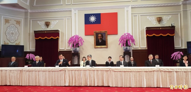 總統府公布考試委員被提名人名單。(記者李欣芳攝)