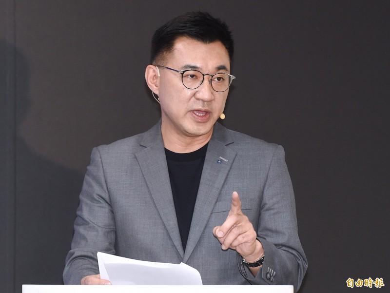 國民黨主席江啟臣今晚在臉書貼文說,WHO運作有問題,美國應該留下來力圖改革,而非輕言退出,至於美國取消香港特殊地位,固然是對北京粗暴立法的強勢表態,但可能重創香港民眾權益。(資料照)