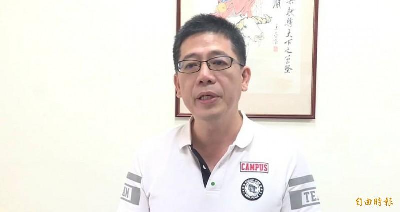 國民黨籍前移民署長謝立功退黨跳槽任台灣民眾黨秘書長。(資料照,記者俞肇福攝)