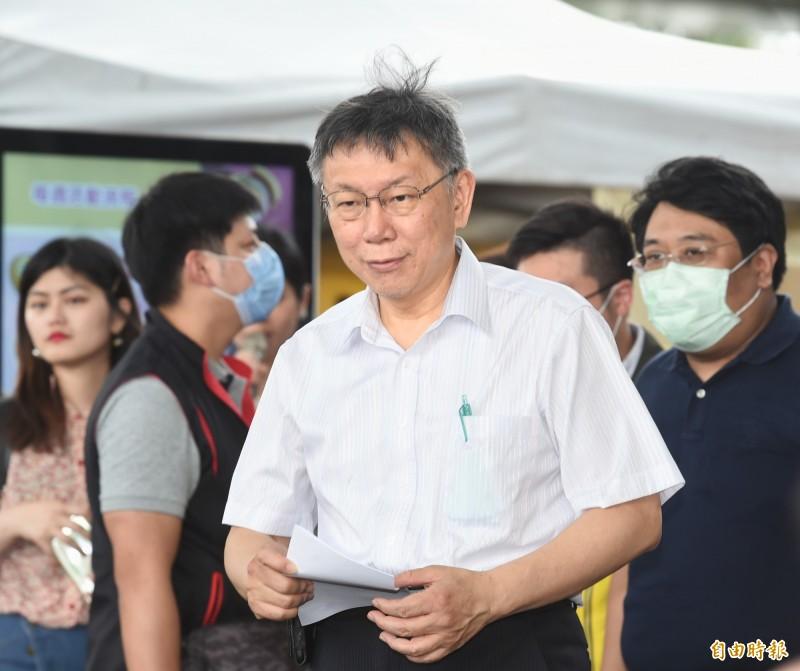 長期觀察台北市長柯文哲的國民黨北市議員認為,謝立功是柯向國民黨招安的棋子,找與國民黨的合作議題、拉攏黨內人士。(資料照,記者方賓照攝)