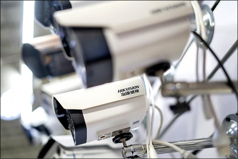 政院調查報告揭露,全國有二二八個公務機關、學校使用中國資通訊設備。(法新社)