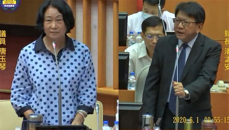 潘孟安表示,若中央不核定高鐵南延,馬上請辭謝罪。(記者侯承旭翻攝)