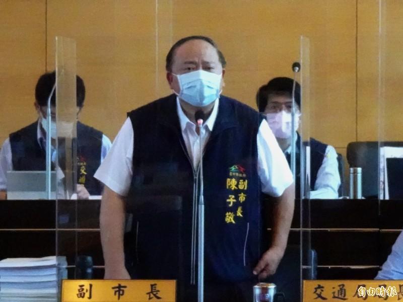 「大甲三寶」是哪三寶?台中市副市長陳子敬無法正確回答。(記者張菁雅攝)