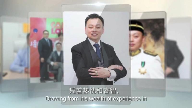馬來西亞籍男子吳帝慶自己拍的宣傳廣告。(記者姚岳宏翻攝)