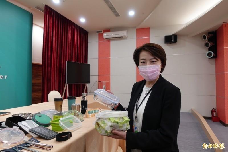 台北市副市長黃珊珊。(記者沈佩瑤攝)
