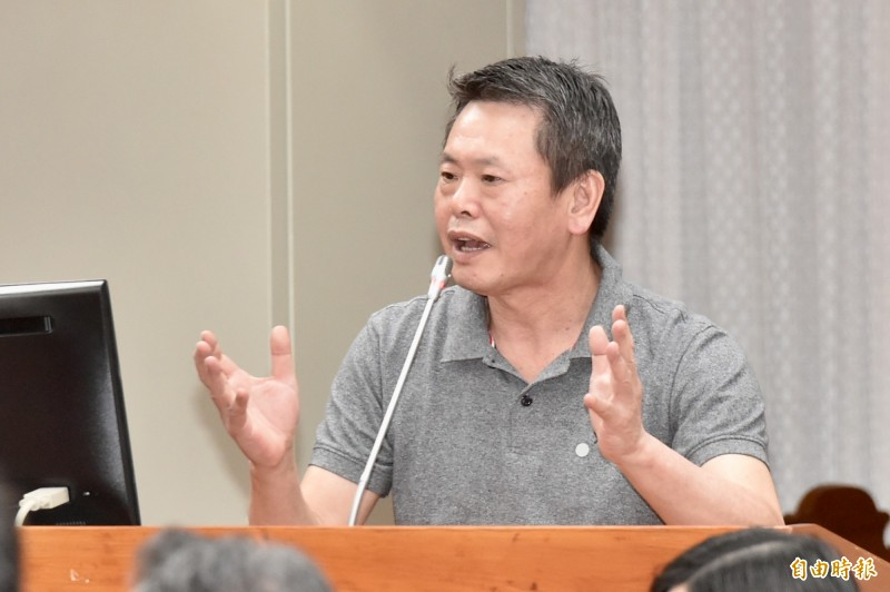國民黨團立院總召林為洲今出席「開放國會行動方案」啟動記者會。(記者塗建榮攝)